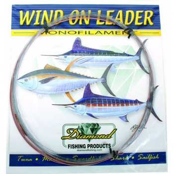 Diamond Wind-On Monofilament Leaders