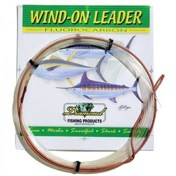 Diamond Wind-On Fluorocarbon Leaders