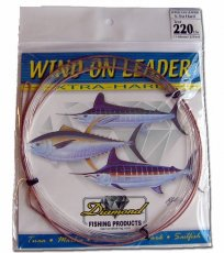 Diamond X-TRA Hard Wind-On Leaders
