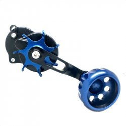 Seigler SM Star Drag Casting Reel Black Blue