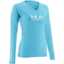 Huk Ladies Performance Long Sleeve Shirt H1200060-TBL
