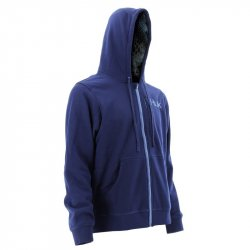 Huk Kryptek Performance Full Zip Hoody Navy Front BTY