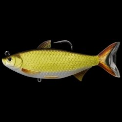 LIVETARGET Golden Shiner Swimbait Gold Black