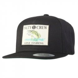 Salty Crew Big Mouth Patched Hat