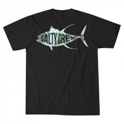 Salty Crew Fisher T-Shirt Black Back