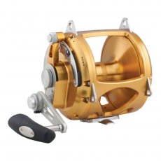 Penn International INT130VIS VIS 2-Speed Lever Drag Reel Gold