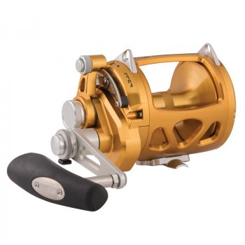 Penn International INT30VISW VIS 2-Speed Lever Drag Reel Gold