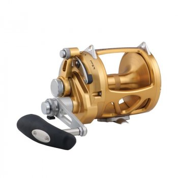 Penn International INT50VISW VIS 2-Speed Lever Drag Reel Gold