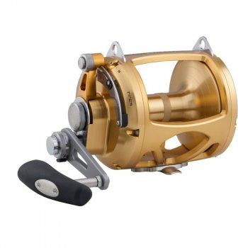 Penn International INT80VISW VIS 2-Speed Lever Drag Reel Gold