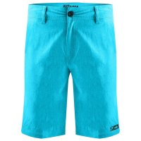 Pelagic Deep Sea Hybrid Boardshorts Front Aqua