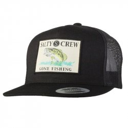 Salty Crew Big Mouth Trucker Hat Black