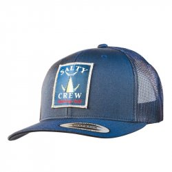 Salty Crew Chasing Tail Retro Trucker Hat Navy