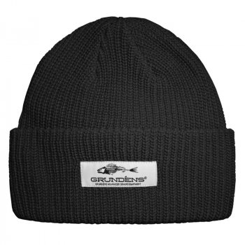 Grundens Watch Cap Beanie Black