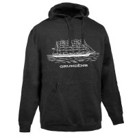 Grundens Ship Logo Hooded Sweatshirt