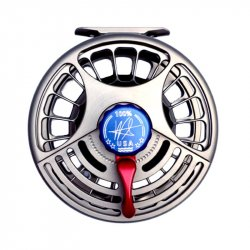 Seigler BF Big Fly Reel Side