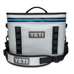 Yeti Hopper Flip 18 Soft Sided Cooler Bag Fog Gray Front