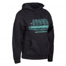 Grundens Womens Ship Logo Hooded Sweatshirt