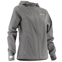 Huk Ladies Packable Jacket H6400001-CGY Front