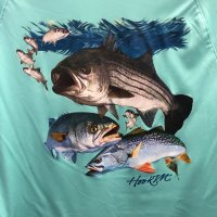 Bimini Bay Outfitters Northeast Inshore Slam Long Sleeve Performance Shirt BTY