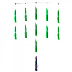 Dark Matter Nine Spreader Bar Green