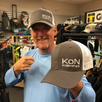 Kidcochiese Outdoors KON Fishing Hat