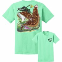 David Dunleavy Flounder Reef Tee Mint