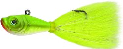 Spro Prime Bucktail Jig Crazy Chartreuse