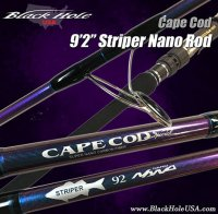 Black Hole USA Cape Cod Striper Surf Spinning Rods
