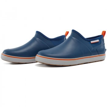 Grundens Deck Boss Slip Ons Deep Water Blue