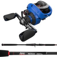 Quantum Accurist S3 PT Reel Jigging World Nexus Combo Blue