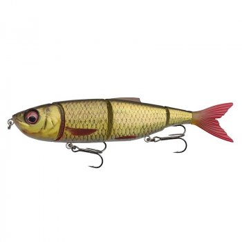 Savage Gear 3D 4Play V2 Swim & Jerk Swimbait Golden Shiner