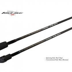 Black Hole Cape Code Special Slow Pitch Rods Logo