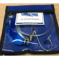 ChatterLures Joe Shute Pin Rig Blue White 3 oz