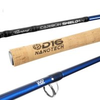 Tsunami Carbon Shield II Casting Rods REV