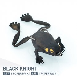 Chasebaits Bobbin Frog Black Night