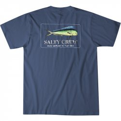 Salty Crew El Dorado Tee Navy Rear