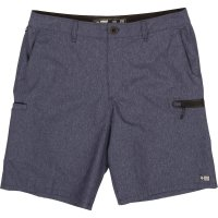 Salty Crew High Seas Perforated Walking Short Navy Front