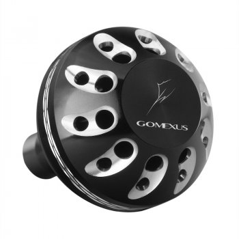 Gomexus Aluminum Power Knobs Black Silver