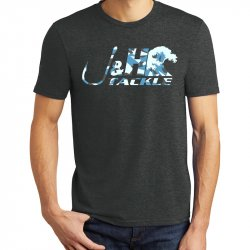 J&H Tackle Splinter Camo Wave Logo T-Shirt