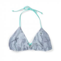 Pelagic Key West Reversible Bikini Top Light Grey Camo