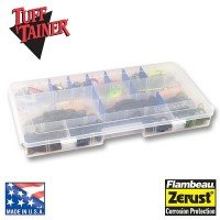 Flambeau Outdoors Tuf Tainer 6004R  Tuff Tainer 4-Partitions/16 Zerust Dividers