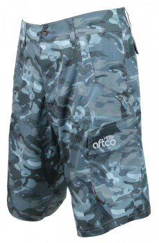 AFTCO Tactical M82 Fishing Shorts Blue Camo