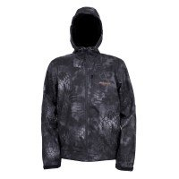 Grundens Gage Midway Softshell Hooded Jacket Front