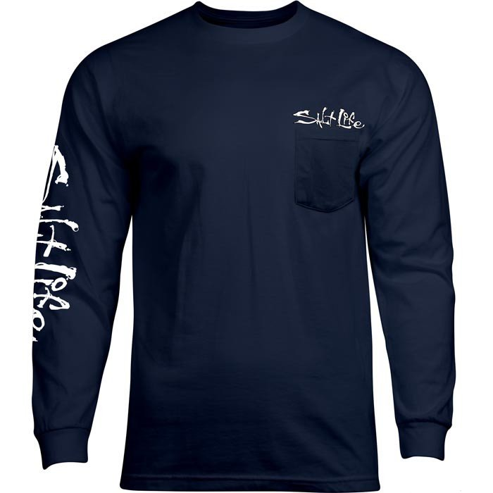 salt life american tail long sleeve pocket t shirts j h