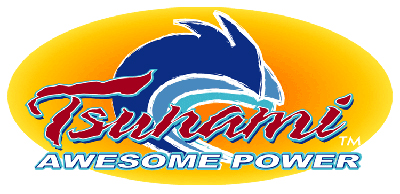 Tsunami Fishing Logo