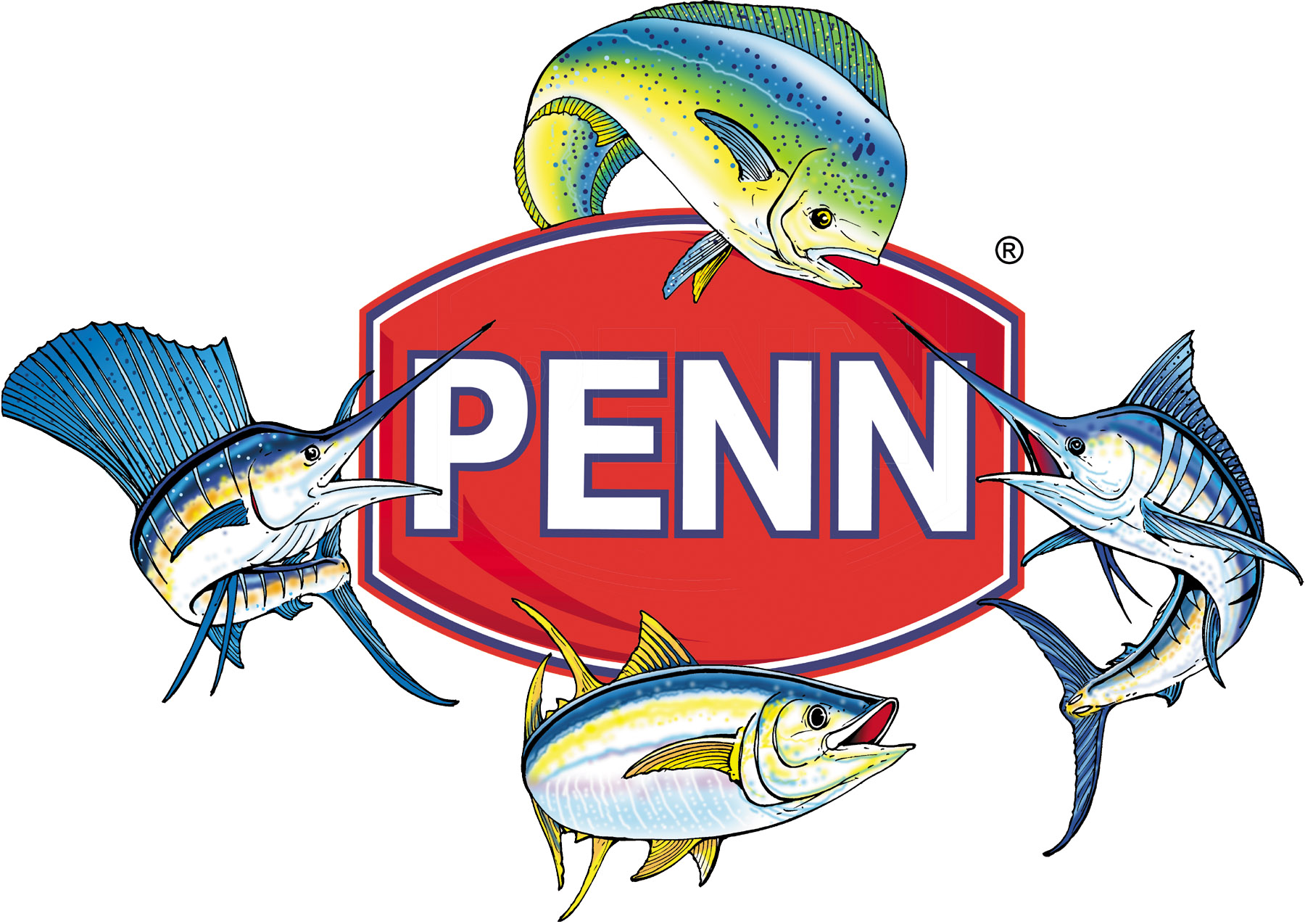 Penn Four Fish Logo