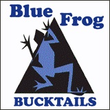Blue Frog Bucktail Jigs
